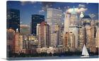 ARTCANVAS New York Downtown Skyline Canvas Art Print