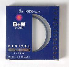 B+W 67mm Macro UV Haze Protettivo Filtro per Pentax Canon Nikon Sony Olympus