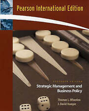 Strategic Management and Business Policy: Concepts and Cases, Wheelen, Thomas L.