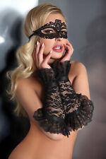 LIVCO CORSETTI Model 5 Luxury Decorative Tie Up Eye Mask