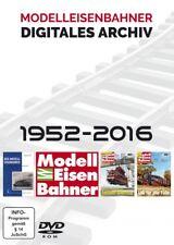 MEB modelleisenbahner el digital total archivado 1952-2016 3 DVDs