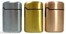 Edles Metall Gas Feuerzeug mit Turbo Flamme zum Aktionspreis @ in TOP - Qualität