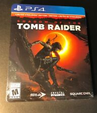 Shadow of the Tomb Raider [ Limited Steelbook Edition ] (Ps4) New