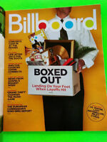 Billboard Magazine May 3 2008 Layoffs In The Music Industry Neville Brothers