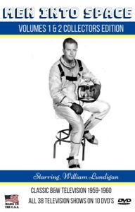 Men into Space All 38 TV Shows-10 DVD's 2 Case Collection+BONUS Buck Rogers DVD!
