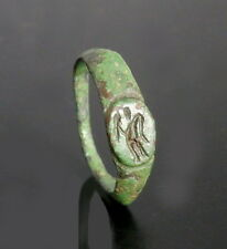 ROMAN BRONZE RING DEPICTING VICTORY (L153)