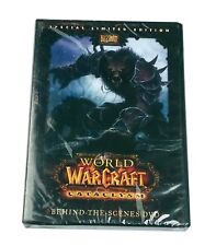 World of Warcraft Cataclysm WoW Blizzard Limited Edition DVD Behind the Scenes