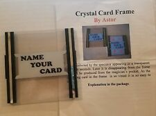 Crystal Card Frame by Astor - Retail $40 - Discontinued