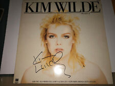 Kim Wilde AUTOGRAPHED Lp Select-see photo signing proof