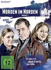 4 DVDs * MORDEN IM NORDEN - KOMPLETTE STAFFEL 1 - HEITER BIS TÖDLICH # NEU OVP^