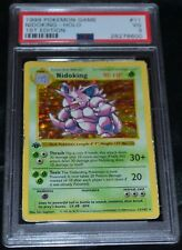 Holo Foil Nidoking # 11/102 1st First Edition Base Set Pokemon Cards PSA 3 VG