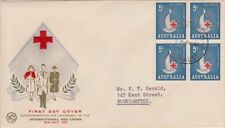 Red Cross Australian Pre-Decimal First Day Covers