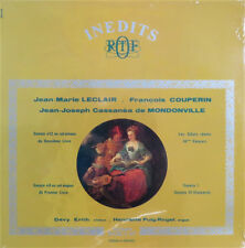 Devy Erlih: Sonatas by Leclair, Couperin, et al. - Inedits RTF 995 026 (sealed)