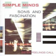 *NEW* CD Album Simple Minds - Sons And Fascination (Mini LP Style Card Case)