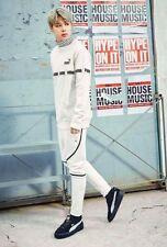 K-POP BTS(방탄소년단)/Bangtan Boys PUMA Clothing FD Trim Crew 897915-02 White Sz S