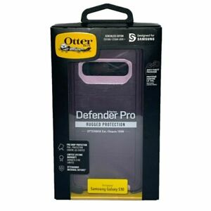 NEW! Otterbox Defender Pro Series Case For Samsung Galaxy S10, Purple, Pink