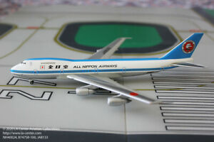 ANA Trading All Nippon Boeing 747-200 in Old Mohican Color Diecast Model 1:400