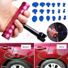1Set 18pcs Tabs + T-Bar Car Hammer Puller Lifter Paintless Dent Pit Repair Tools