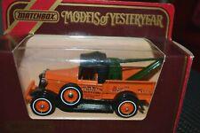 "MATCHBOX MODEL/YESTERYEAR : 1930 FORD MODEL ""A""  TOW TRUCK ""Barlow Motors"" 1:43"