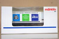 MARKLIN MäRKLIN 4481 C039 DB WEINHEIMER GUMMIWERKE GW FLAXO MATIG REX CONTAINER