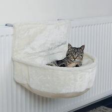 Sac Câlin pour radiateur blanc peluche lit de chat art. 43140 chauffage