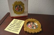 Hallmark Christmas Ornament 2014 Our Hero Military Photo Personalize USAF Army