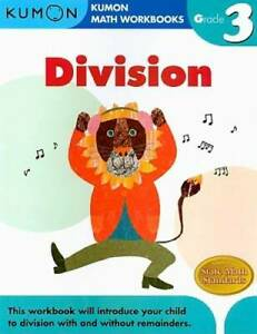 Grade 3 Division (Kumon Math Workbooks) - Paperback By Kumon Publishing - GOOD