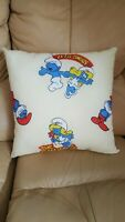 The Smurfs Pillow Cover with zipper kids bedding Kids Cushion Home Art 16X16IN