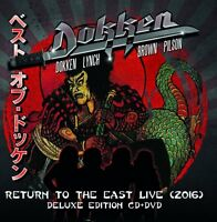 DOKKEN - RETURN TO THE EAST LIVE 2016 (DELUXE EDITION)   CD+DVD NEW+