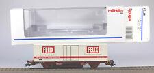 Märklin H.O. #47721 Swedish 2 Axle Container Transport Car, LN/BX, 1999 only