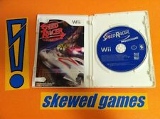 Speed Racer The Video Game - Wii Nintendo COMPLETE