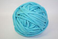 1kg Coloured Merino felted super chunky Nundle wool vine knitting Light Aqua
