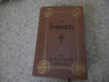 1893.Les quatre évangiles.Traduction Lemaistre de Sacy corrigée.Abbé Verret