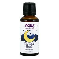 NOW Foods Peaceful Sleep Oil Blend, 1 fl. oz.