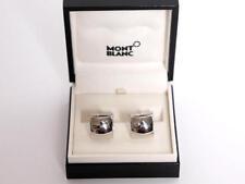 Montblanc 925 Sterling-Silber Manschettenknöpfe