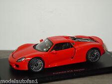 Porsche 918 Spyder van Spark 1:43 in Box 1/150pcs *24253