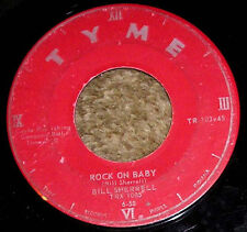 "MONSTER 1950s Rockabilly 45 - BILL SHERRELL ""Rock On Baby"" TYME RECORDS #103"