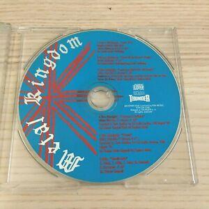 Vari - Metal Kingdom - CD PROMO 6 Tracce_1995 Thunder Italy RARE Dickinson Skin