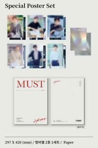 2PM MUST OFFICIAL MD GOODS POSTER SET + PHOTOCARD SEALED