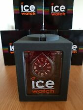 Ice Watch Mens Ice-Vintage Black Dial Leather Strap Designer Watch VT.BK.B.L.13