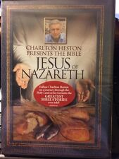 Charlton Heston Presents the Bible - Jesus of Nazareth (DVD) New Sealed