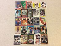 HALL OF FAME Baseball Card Lot 1976-2020 HANK AARON BABE RUTH WILLIE MAYS