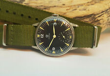 USED VINTAGE OMEGA SUB SECOND BLACK DIAL MANUAL WIND MAN'S WATCH