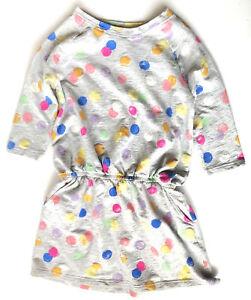 Preowned Gymboree Sweater Dress Girls Size 10-12 Elastic Waist 3/4 Sleeve Pocket