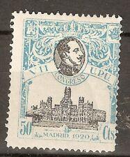 1920 CONGRESO DE LA UPU EDIFIL 306*