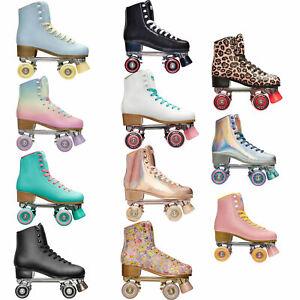 Impala Quad Skates Rollerskates Rollschuhe Artistik Retro Damen Kunstlauf Disco