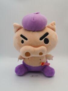 "Crayon Shin-chan B1103 Buriburizaemon Animation Plush 6"" Toy Doll Japan"
