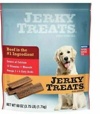 Jerky Treats Tender Beef Strips Dog Snacks - 3.8 lb
