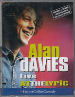 Alan Davies Live At The Lyric Cassette Audio Comedy Stand Up FASTPOST