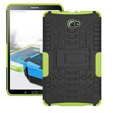 HIBRIDO exteriores Funda Protectora Verde para Samsung Galaxy Tab A 10.1 T580